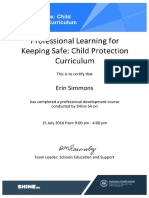 child protection curriculum