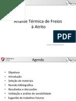 Análise Térmica Do Disco de Freio (Bom)