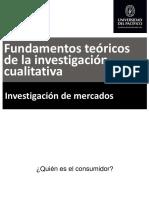 Fundamentos teoricos de la investigacion cualitativa
