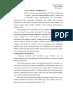 Laporan Praktikum Kimia Pangan (Karbohidrat)