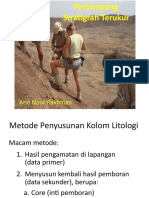 Penampang Stratigrafi Terukur 2