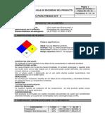 MSDS Hoja de Seguridad Gulf Liquido Para Frenos Dot 4 Informacion Cofre