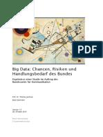 Big Data Opportunitiesrisksandneedforactionbytheconfederationonl