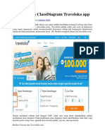 UseCase Dan ClassDiagram Traveloka App