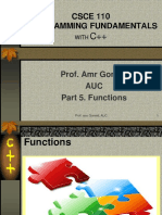 5. Functions