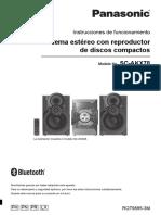 MANUAL DE USUARIO PANASONIC AKX-38