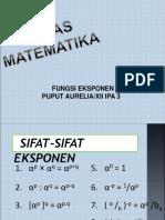 31. Puput presentasi eksponen dan logaritma.ppt