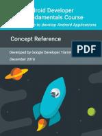Android Developer Fundamentals Course Concepts En