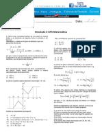 Simulado 2 AFA Matemática