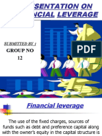 Financial Leverage 1