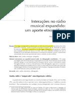 Interações No Rádio Musical - Galaxia
