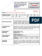 Ficha Tecnica HM 28