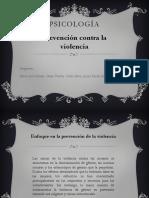 Psicología - Prevencion de La Violencia