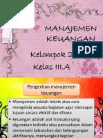 Kelompok 2 Manajemen Keuangan