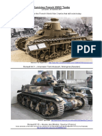 Surviving French Tanks