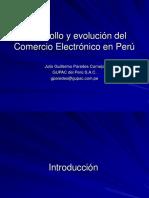 Desarrollo y Evolucion Del Comercio Electronico en Peru