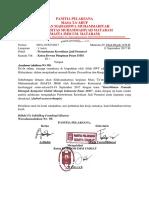 Surat Permohonan Jadi Pemateri