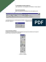 El Entorno de Visual Basic 6.0