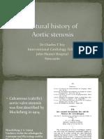 Natural History of Aortic Stenosis