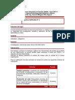 Trabajo autónomo N°2 Sistemas Integrados de Gestión UTP