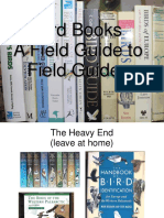 Bird Book Talk