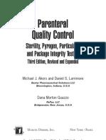 12879652 Parenteral Quality Control