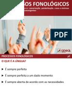 Processos Fonologicos AREAL 10.o