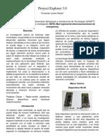 Proyect Explorer 3 (Informe)