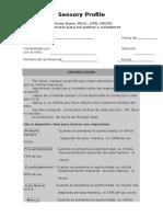 [RUT] Sensory Cuestionario Para Padres y Cuidadores