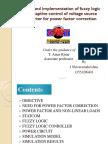 Fuzzy Logic Controller for Vsi for Power Factor Correction