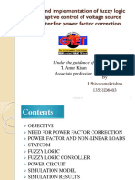 Fuzzy Logic Controller for Vsi for Power Factor Correction