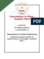 Inovative Fibre - Auxetic Fibre