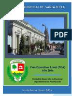 Plan Operativo Anual 2016