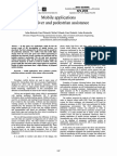 Mobile applications for driver and pedestrian assistance - Julian Balcerek