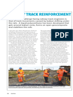 Rail Track Reinforcement Article