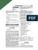 D.S. N°013-2011-EM, Plan nacional para la formalización de la minería artesanal