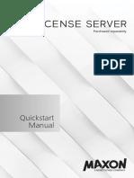 Quickstart License Server En