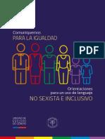 Manual Lenguaje Inclusivo No Sexista Mineduc