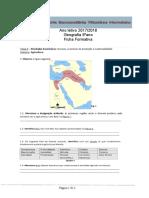 Ficha Formativa Agricultura