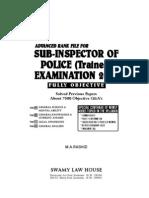 Advanced Rank File for Sub Inspector Exam Kerala Psc by m.a.rashid