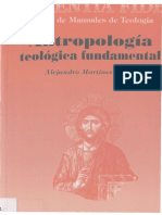 Martínez, A.,  Antropología teológica fundamental