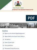Nigerian Power Sector Investment Oppurtunities