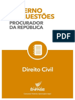 Caderno de Questoes MPF Direito Civil