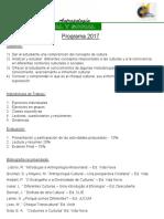 Programa Antropología