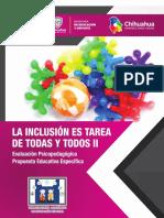 La Inclusion es tarea de Todas y Todos II