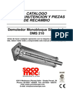 Catalogo Martillo Dms 210
