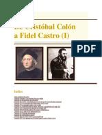 De Cristobal Colon a Fidel Castro; La Frontera Imperial - Juan Bosch
