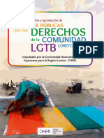 Politicas Publicas LGBT CHERL