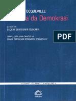 Alexis de Tocqueville - Amerika'Da Demokrasi