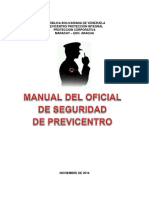Manual Del Oficial de Seguridad